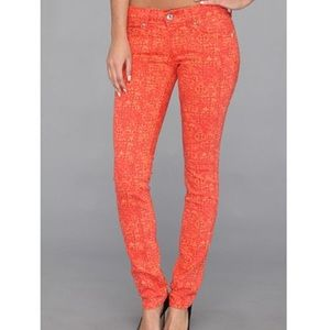 Levi's 524 too Superlow Orange